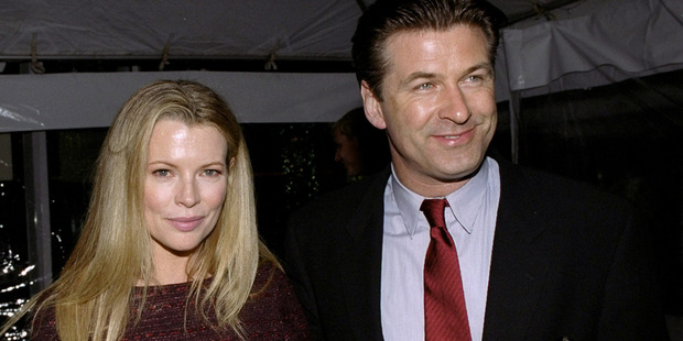 Alec Baldwin and Kim Basinger met on the set and married three years later. Basinger filed for divorce in 2001. Photo / Getty Images