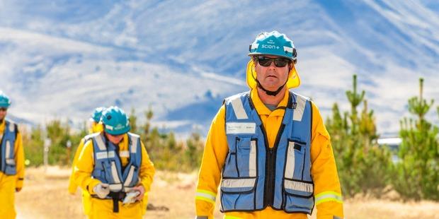 Scion senior fire scientist Grant Pearce