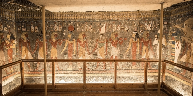 Horemheb Tomb inside the Valley of the Kings in Luxor, Egypt. Picture: jakubkyncl.com