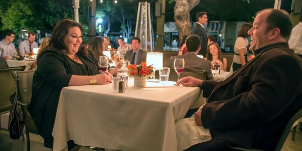 Chrissy Metz as Kate, Chris Sullivan as Toby in a scene from This Is Us. Photo / NBC