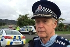 Inspector John Kelly addresses the media as searchers looking for missing teenager Luke Cochrane find a body. The Police National Dive Squad taking part in the search located the body in a waterway in Whitianga, police confirmed in a statement.