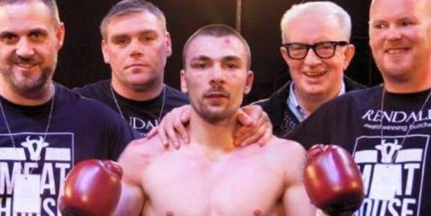 Scottish boxer Mike Towell has died after he was knocked to the canvas twice in a bout in Glasgow on Thursday night. Photo / Facebook