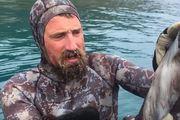 Josh 'The Kiwi Bushman' James showed fans how to kill an octopus. Photo / Youtube / Josh James Kiwi Bushman