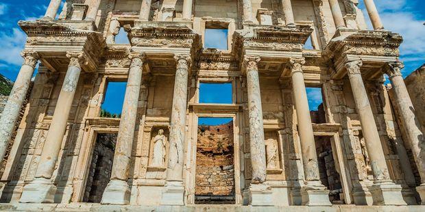 Ancient Greek ruins at Ephesus. Photo / 123RF