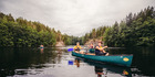 Canoeing in Nuuksio National Park, Finland. Photo / Outdoors Finland, Creative Commons license
