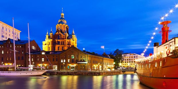 Old town in Helsinki, Finland. Photo / 123RF