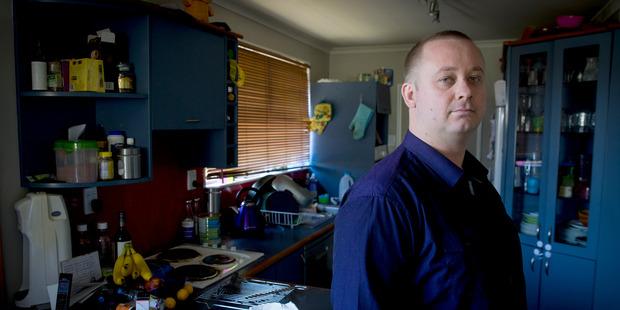 Shane Le Brun from Medical Cannabis Awareness NZ. Photo / Mike Scott.