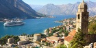 The bay and fortress at Kotor.