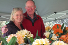 Judy Shapland and Ian Duncalf join other clivia enthusiasts to find something new and unusual at this year's show at Te Puna. Photo/supplied
