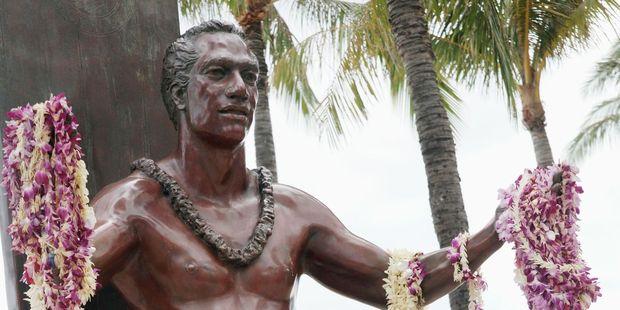 A statue of Duke Kahanamoku. Photo / 123RF