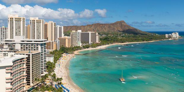 Waikiki Beach. Photo / 123RF