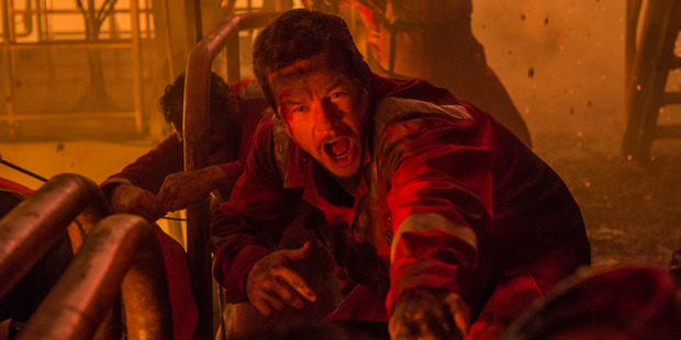Loading A scene from the film Deepwater Horizon starring Mark Wahlberg.