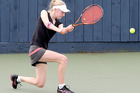 Charlotte Williams has her eye on winning the Year 16 girls title at the Wanganui Open today.