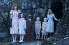 A scene from the movie, Miss Peregrine's Home for Peculiar Children.
