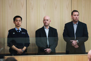 Roading contractor Stephen Borlase and former senior Auckland Transport manager Murray Noone pleaded not guilty to charges of corrupting a public official by bribery. Photo / Doug Sherring