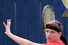 Seventh seed Caleb Fleming played beyond expectations to finish runner-up in the Wanganui men's open at the weekend before being edged out of the Year 16 boys singles.