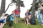 A Papamoa couple with four children - the youngest aged 3 - are on a global adventure by backpacking around the world for a year.