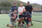 The Judge Jokers' attempt at defending their interclub tennis title is no laughing matter.