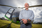 Former chopper recue pilot John Funnell. Photo / Jeremy Bright