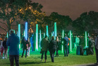 Seeing the light: Artweek draws bigger crowds every year.