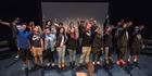 The cast of Manawa Ora 2015 take a bow.