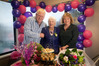 Gwen Walker celebrates her 101st birthday with daughter Trish Kerse and son Peter Walker. PHOTO/ANDREW WARNER