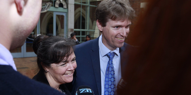 Loading Colin Craig has spoken out in support of his wife Helen, who has stood by him. Photo / Nick Reed