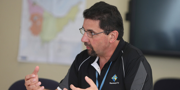Brent Lincoln, Team leader TCC animal services. Photo/John Borren