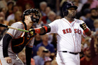 David Ortiz hits another one out of the park. Photo / AP