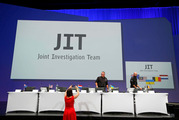The Joint Investigation Team (JIT) released its preliminary results of the investigation into the shooting-down of Malaysia Airlines jetliner flight MH17. Photo / AP