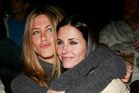 Courteney Cox (right) has come to the defence of her Friends castmates Jennifer Aniston. Photo / AP