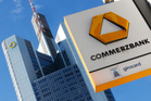 Commerzbank said the restructuring will result in a €700 million write-off. Photo / AP