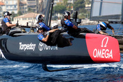 Team New Zealand, in action at the America's Cup World Series event off Toulon, southern France, earlier this month. Photo / AP