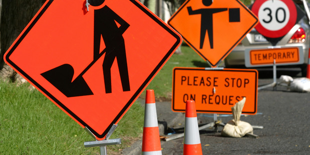 A court heard Reuben Lindsay Hill sped through roadworks near Turakina and hit a road worker who was placing cones on the road. PHOTO/FILE