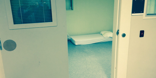 Example of a seclusion room at a Government-run mental health facility. Photo / File