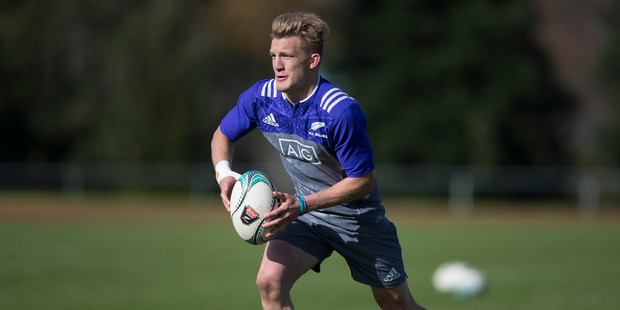 Loading Damian McKenzie has been named in the 23-man side and is expected to debut on Sunday on morning. Photo / Brett Phibbs