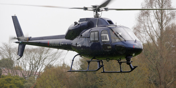 Police reveal Eagle helicopter was hit by a laser strike over Auckland skies this week. Photo / NZME