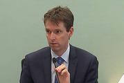 Colin Craig gives evidence in his defamation trial brought by Jordan Williams. Photo / Supplied