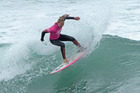 Mount Maunganui surfer Elin Tawharu, 15, won a bronze medal at the 2016 Vissla ISA World Junior Surfing Championship. Photo/Isa/Rezendes