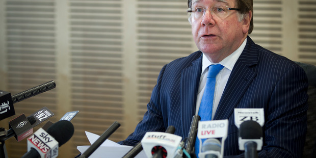 Foreign Affairs Minister Murray McCully wants accountability over the downing of MH17. Photo / Sarah Ivey