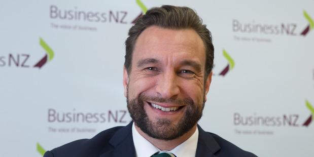 Business NZ chief executive Kirk Hope. Photo / Mark Mitchell
