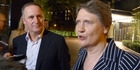 Prime Minister John Key with UNDP chief Helen Clark at the United Nations Assembly in New York. Photo / Audrey Young