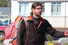 French hitchhiker Cedric Claude Rene Rault-Verpre made a right merde of himself on the West Coast. Photo / Greymouth Star