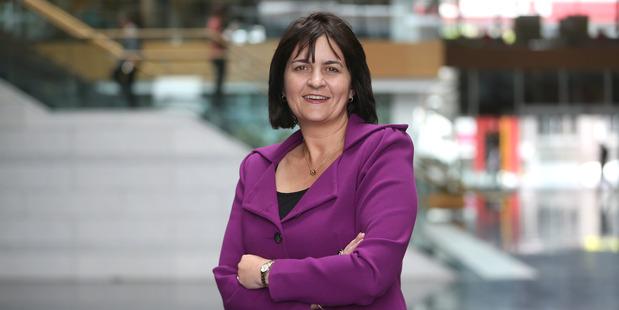 Jolie Hodson, CFO of Spark NZ. Photo/Doug Sherring.