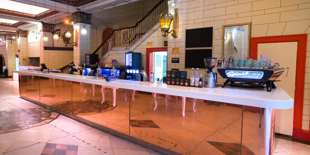 The main foyer bar, pictured in 2015, was the intermission experience for thousands of theatre-goers. PHOTO/NICK REED