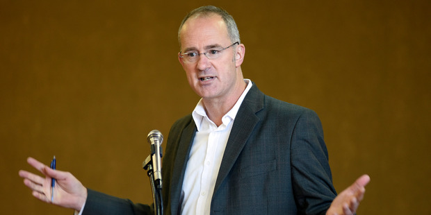 "Labour MP Phil Twyford says even middle income earners are now ""mortgaged to the hilt"". Picture: George Novak"