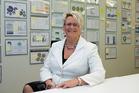 Inland Revenue Commissioner Naomi Ferguson in tax department's head office in Wellington. Photo/Mark Mitchell