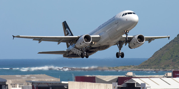 Air New Zealand was unchanged at $1.86. Photo / Mark Mitchell
