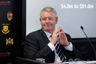 NZRU chief executive Steve Tew. Photo / Mark Mitchell.