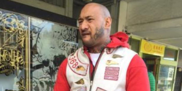 Anthony Nansen is a senior Hells Angel and champion fighter. Photo / Supplied.
